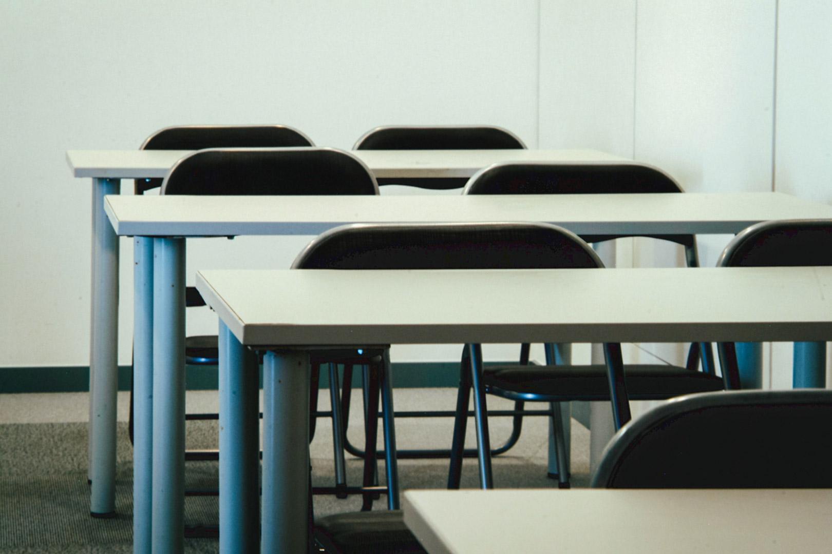 Sala de formaçao em escola (pormenor)