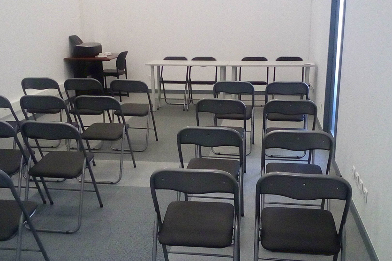 Sala de Formaçao em plateia